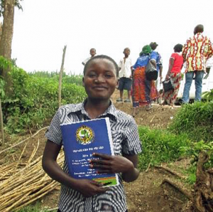 Esther MS, did not receive education sponsorship (2014)