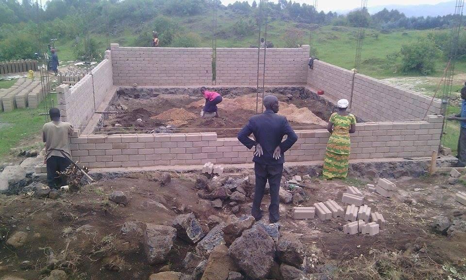 Women's School Building One Construction