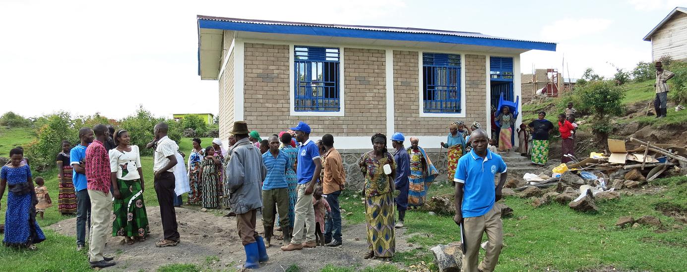 Bunagana, DR Congo Women's School (Peopleweaver and Ciyota in partnership