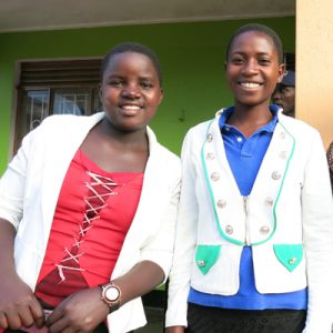 Niwot United Methodist Church sponsors the education of Prisca and Josephine (DR Congo)